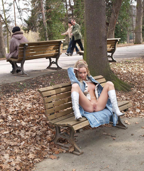 Cipka w parku
