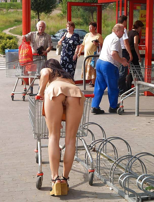 Cipka pod supermarkketem